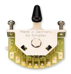 Schaller Megaswitch E+ Universeel model 5-Standenschakelaar met Zwarte Tip - 15310005