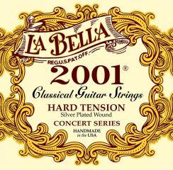 La Bella Classic 2001 Concert Series L-2001H - Hard Tension snaren voor Klassieke Gitaar