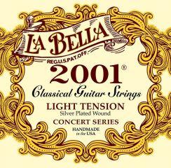 La Bella Classic 2001 Concert Series - Light Tension snaren voor Klassieke Gitaar