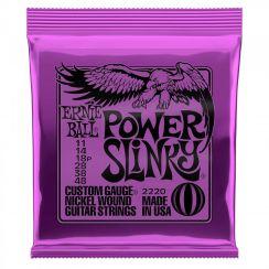 Ernie Ball 2220 Power Slinky snaren voor de Elektrische Gitaar (11-48)