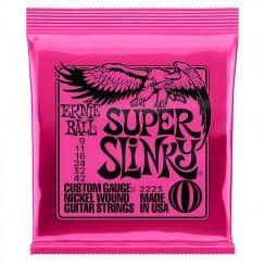 Ernie Ball 2223 Super Slinky Snaren voor de Elektrische Gitaar (9-42)