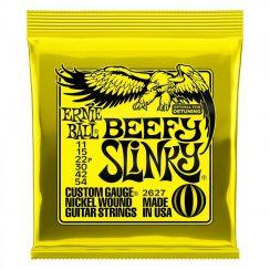 Ernie Ball 2627 Beefy Slinky Snaren Elektrische Gitaar (11-54) - voor lagere stemmingen zoals drop D, drop C