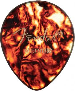 Fender 347 Plectrum Classic Celluloid Shell Medium 1.0mm - Per Stuk