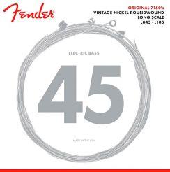 Fender 7150ML Snaren voor Elektrische Basgitaar Medium/Light (45-100) Vintage Nickel Roundwound Long Scale