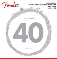 Fender 72505L 5-Snarige Basset Snaren Elektrische Basgitaar Light (40-115) Nickel Plated Steel Roundwound Long Scale