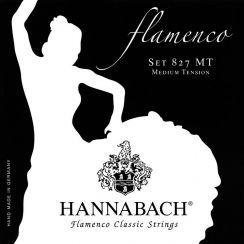 Basset Hannabach Flamenco 827 - MT Medium Tension bassnaren D / A / E