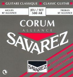 Savarez Corum Alliance 500AR - Normal Tension gitaarsnaren Klassieke gitaar en Flamencogitaar (Carbon Trebles)
