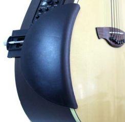 Armsteun voor de Akoestische Westerngitaar - Verbetert Comfort, Grip & Houding - Guitar Armrest for the Acoustic Guitar