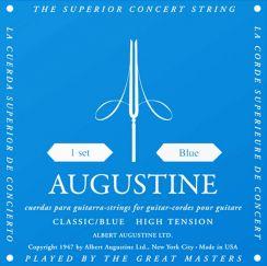 Augustine Blue High Tension snaren voor Klassieke Gitaar AU-CLBU