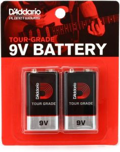 Batterijen 9V D'Addario Planet Waves PW-9V-02 (2pack)