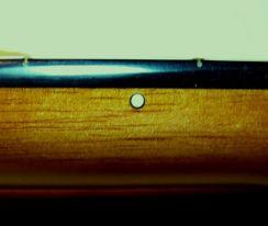 Fret stippen voor Akoestische gitaar en Klassieke Gitaar- Rosette Fret Dots Markers Black Ivory
