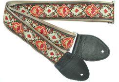 Souldier Cabernet Burgundy Strap - Gitaarband handgemaakt in Chicago