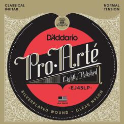 D'Addario EJ45LP Gepolijste Pro-Arte snarenset voor klassieke gitaar - Normale Spanning