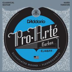 D'Addario Fluorocarbon EJ46FF Klassieke Gitaarsnaren - Hard Tension snaren