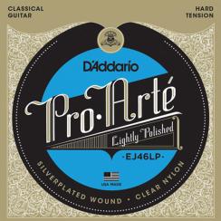 D'Addario EJ46LP Gepolijste Pro-Arte snarenset voor klassieke gitaar - Hoge Spanning