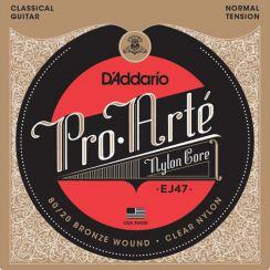 D'Addario EJ47 Bronzen 80/20 Pro Arte Snaren - Normale Spanning voor de klassieke gitaar