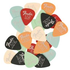 Fender Dura-Tone Mixed Pickpack Plectrums 24-Pack
