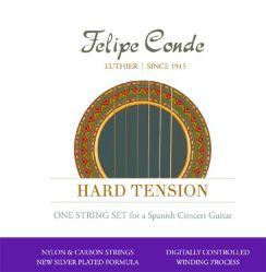Felipe Conde Nylon Carbon - Hard Tension snaren voor de klassieke gitaar en flamencogitaar