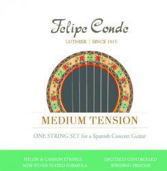 Felipe Conde Nylon Carbon - Medium Tension klassieke flamenco gitaarsnaren