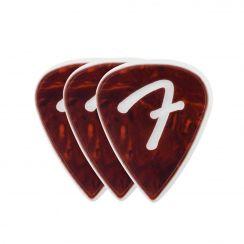 Fender F Grip 351 Picks Shell Celluloid plectrum (set van 3)