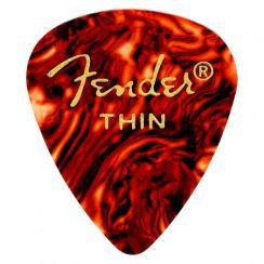 Fender 351 plectrum Thin Classic Celluloid - Per Stuk