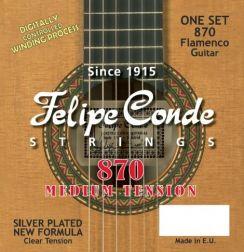 Felipe Conde Flamenco 870 - Medium Tension gitaarsnaren voor de flamencogitaar