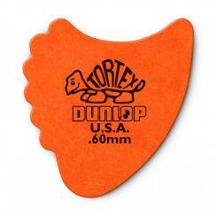 Dunlop Tortex Fin Plectrum 0.60mm - Per Stuk