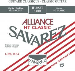 Treble Set Savarez Alliance Normal Tension - Carbon trebles voor de klassieke gitaar E / B / G