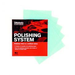 Fret Polishing System Planet Waves D'Addario - Poetspapier voor frets gitaar PW-FRP