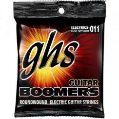 GHS Boomers GBM Gitaarsnaren (11-50) Medium snarenset voor de elektrische gitaar