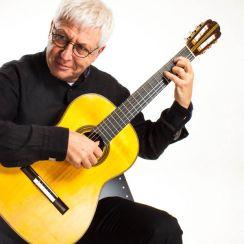 Guitarlift Medium Plate - Gitaarsteun Zwart - Guitarsupport Classical Guitars