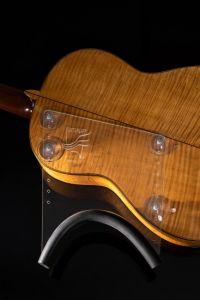 Guitarlift Half Plate - Gitaarsteun Transparant voor de klassieke gitaar en akoestische westerngitaar