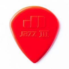 Dunlop Jazz III Plectrum 1.38mm Rood I Per Stuk