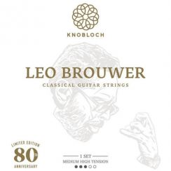 Knobloch Leo Brouwer 400LB Medium High Tension Klassieke Snarenset