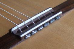 String Plates Aluminium Carbon String Ties voor de Klassieke Gitaar - Classical Guitar String Plates