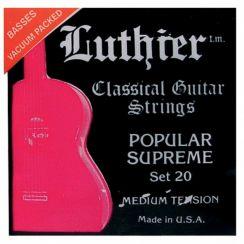 Luthier Supreme Set 20 snaren voor de Flamencogitaar en klassieke gitaar | Medium Tension