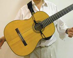 Gitaarriem Luthier voor Klassieke Gitaar en Flamencogitaar - Luthier Guitar Strap for all Acoustic Guitars