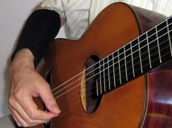 Arm Sleeve Large Luva Matepis Hard (met hard Support Pad) - Armkussen voor de gitarist maat Large (G)