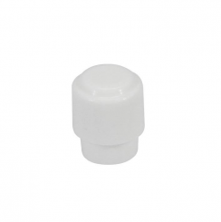Switch Cap Knop Barrel Boston LI-360 switch cap voor T-stijl White - past op schakelaars van 3.5mm
