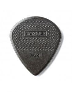 Dunlop Max Grip Carbon Fiber Jazz III Plectrum I Per Stuk