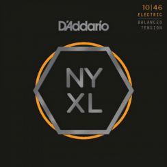 D'Addario NYXL1046BT Elektrische Gitaarsnaren (10-46) Nickel Wound Light Balanced Tension