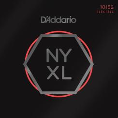 D'Addario NYXL1052 Snaren voor Elektrische Gitaar (10-52) Nickel Wound Light Top / Heavy Bottom