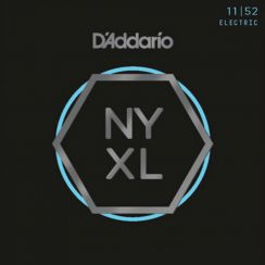 D'Addario NYXL1152 snaren voor de elektrische gitaar - Nickel Wound Medium Top Heavy Bottom 11-52