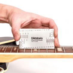 D'Addario Planet Waves PW-SHG-01 String Height Gauge - Snaarhoogtemeter all-in-one Tool voor de gitaar en basgitaar