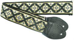 Souldier Regal Black Strap - Gitaarband handgemaakt in Chicago