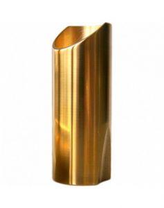 The Rock Slide Polished Brass Slide Size Medium - TRS-MB Bottleneck voor de gitaar