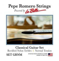 Pepe Romero Rectified Nylon GRNM Nomal Tension - Pepe Romero La Bella snaren voor de klassieke gitaar