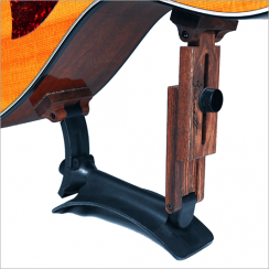 SageWork Atlas Gitaarsteun - Adjustable Magnetic Guitar Support for the classical and acoustic guitar