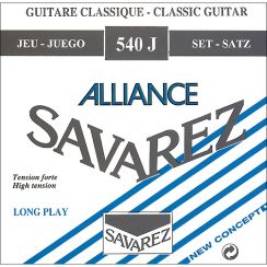 Savarez Alliance 540J High Tension I Klassieke en Flamencogitaarsnaren Alliance Carbon trebles