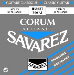 Savarez Corum Alliance 500 AJ High Tension snaren voor Klassieke Gitaar